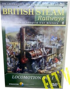 British Steam Railways Vol.6 Locomotion No.1 DVD