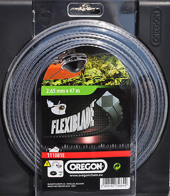 Oregon Flexi Blade Profi Mähfaden GP.0,43EUR/m 2,65 mm x 47 m