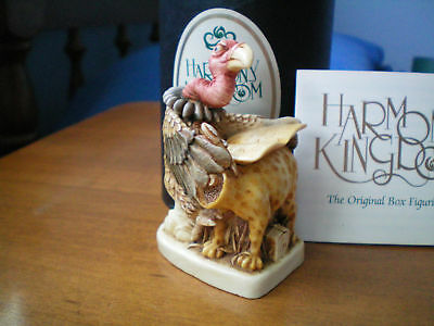 Harmony Kingdom Have a Heart 1st Black Box Valentine Vulture UK Made Sgn