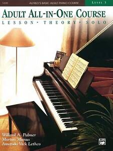Alfred-039-s-Basic-Adult-All-in-one-Piano-Course-by-Morton-Manus-Paperback-1996