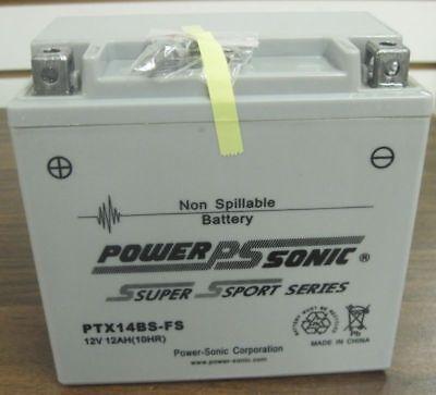 Battery Repl Bike Master Btx14-bs No More Acid Agm