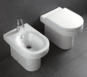 Sanitari bagno filo muro day time vaso water bidet - Sanitari bagno filo muro ...