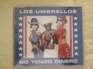 LOS UMBRELLOS - NO TENGO DINERO. CD SINGLE 3 TRACKS | eBay