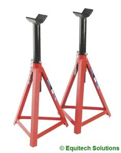 Pair Sealey AS3000 2.5 Ton Medium Height Axle Stands