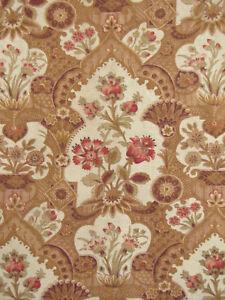 Antique-French-Cretonne-c1890-Art-Nouveau-design-fabric