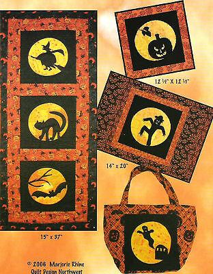 Halloween Moon Quilt Pattern by Quilt Design Northwest ()