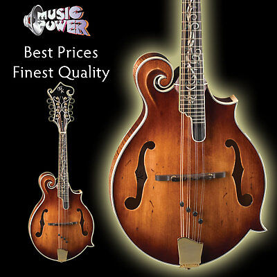 Michael Kelly Legacy Dragonfly Flame Mandolin Antique Violin - Top End Tone on Rummage