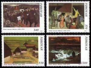 Denmark Faroe 1991 Mi 223-26 ** Painting Gemalde Malarstwo - <span itemprop=availableAtOrFrom> Dabrowa, Polska</span> - Denmark Faroe 1991 Mi 223-26 ** Painting Gemalde Malarstwo -  Dabrowa, Polska