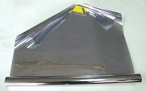 Pellicola tinta per vetro solare grigio effetto specchio 3m 50cm ebay - Pellicola specchio vetri ...