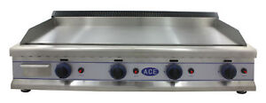 ACE HEAVY DUTY LPG GAS GRIDDLE HOTPLATE 110cm 43