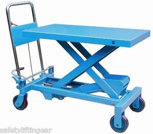 Hydraulic-Platform-Table-150kg-WLL