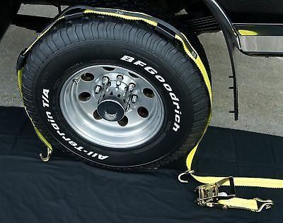 24 USA Ratchet Straps for Car Hauler Trailer Auto Stacker Wrecker Over Tire 3WH