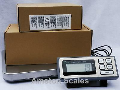 400 x 0.1 LB 181 KG SHIPPING POSTAL SCALE 14 x 16 PLATFORM WEIGH POSTAGE MAIL on Rummage