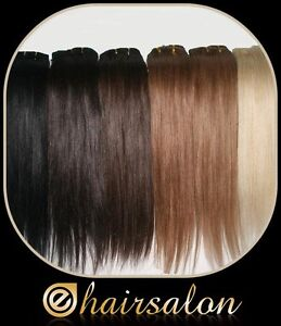 clip in remy human hair extensions brown blonde black red