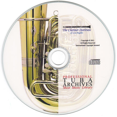Professional Tuba Sheet Music Archive Cd Pdf