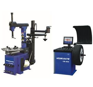 Tyre (Tire) Changer With Assist Arm & Wheel Balancer Machine Combo-2