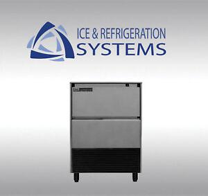 ITV-195LB-COMMERCIAL-UNDERCOUNTER-ICE-MACHINE-MAKER-MAKES-HALF-DICE-CUBE