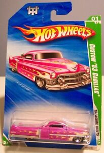 HOT WHEELS 2010 ' 53 CUSTOM CADILLAC Treasure Hunts