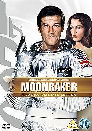 Moonraker Pal DVD 2008 TwoDisc Ultimate Edition Roger Moore  FREE UK PampP - <span itemprop=availableAtOrFrom>Evesham, United Kingdom</span> - Moonraker Pal DVD 2008 TwoDisc Ultimate Edition Roger Moore  FREE UK PampP - Evesham, United Kingdom