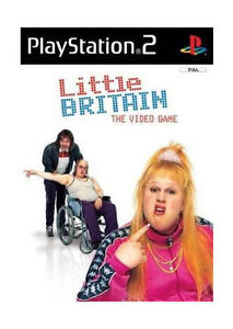 LITTLE BRITAIN: THE VIDEO GAME PlayStation 2 Game  PS2