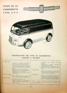 1932 40 chenard et walker et cpv camionnette rta ebay. Black Bedroom Furniture Sets. Home Design Ideas