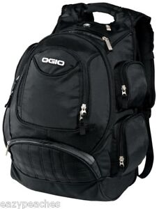OGIO-METRO-BACKPACK-MX-Bag-Fits-17-Laptops-Carry-on-School-BLACK-BLUE-SILVER