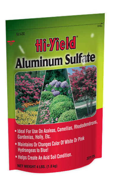 Hi-yield Aluminum Sulfate 4 Lb Hydrangea Sulphur Sulphate Evergreen Fertilizer