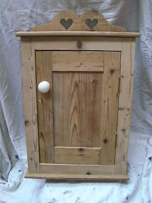 CUSTOM Wall kitchen medicine small solid pine consumer unit cabinet cupboard