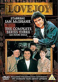 Lovejoy Complete 3rd Series Dvd Ian McShane Brand New & Factory Sealed
