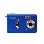 VistaQuest VQ-7220 7.0 MP Digital Camera - Blue
