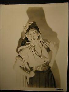 CLAUDETTE-COLBERT-30s-Portrait-VINTAGE-PHOTO-45L