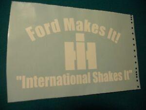 2-large-HD-12X6-5-BACK-GLASS-INTERNATIONAL-SHAKES-IT-DIESEL-DECAL-STICKER-IH