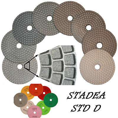 Stadea 4 Diamond Polishing Pads Grit 3000 Wetdry Pad