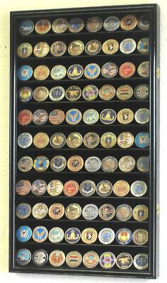 88 Challenge Coin Display Case Holder Cabinet Rack Usa - ...