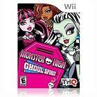 Nintendo Wii Monster High Ghoul Spirit Video Games