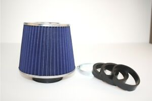 Performance-3-Sports-Air-Filter-60-65-70mm-Inlets-BLUE