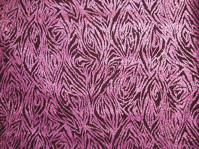Hoffman Purple Glitter 100% Cotton 44 Fabric By Yard