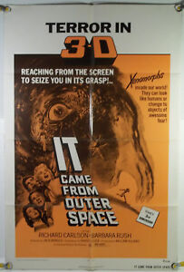 It came from outer space ff orig 1sh movie poster jack for Watch it came from outer space