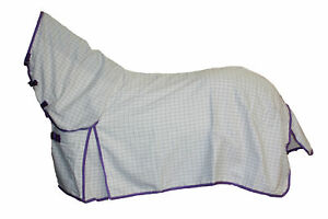AXIOM PC LAVENDER RIPSTOP UNLINED HORSE COMBO RUG 5'3