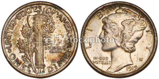 1919, Mercury Dime