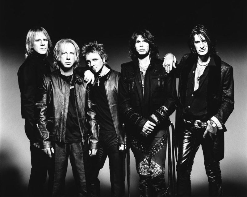 Aerosmith - 8x10 B&W Photo