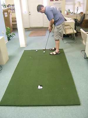 Quick & True™ Training Aid Golf Green Putting Mat Putting Green Mats 3x10