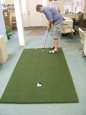 Quick & True™ Training Aid Golf Green Putting Mat Putting Green Mats 3x10