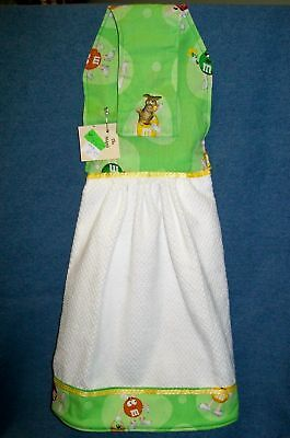 Easter Hanging Kitchen Hand Towel Made W/m&m's® Licensed Fabric 445