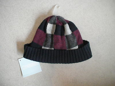 Gymboree Train Time Patterned Sweater Knit Hat Cap