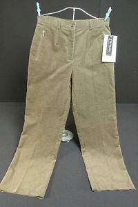 NWT-Tribal-Size-6-Short-Corduroy-Stretch-Extensible-Sportswear-Pants-Ivy-Green