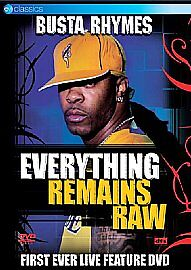 Busta Rhymes - Everything Remains Raw - DVD Brand New