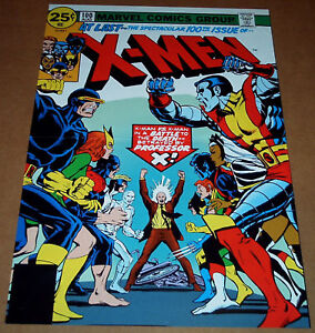 UNCANNY-X-MEN-100-MARVEL-COMIC-BOOK-POSTER-WOLVERINE-NIGHTCRAWLER-PHOENIX-STORM
