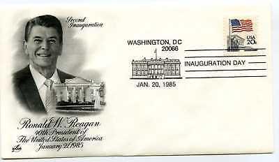 1985 Reagan ArtCraft  Inauguration Day Cover, Washington, DC