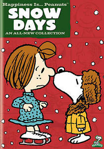 Happiness-Is-Peanuts-Snow-Days-DVD-2011-Snoopy-Charlie-Brown-Gift-NEW